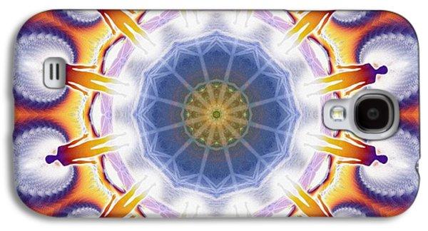 Cosmic Spiral Kaleidoscope 34 Galaxy S4 Case