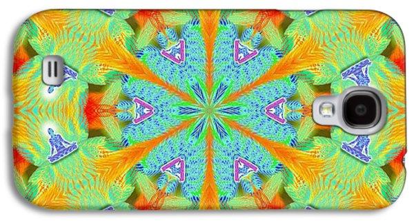 Cosmic Spiral Kaleidoscope 41 Galaxy S4 Case