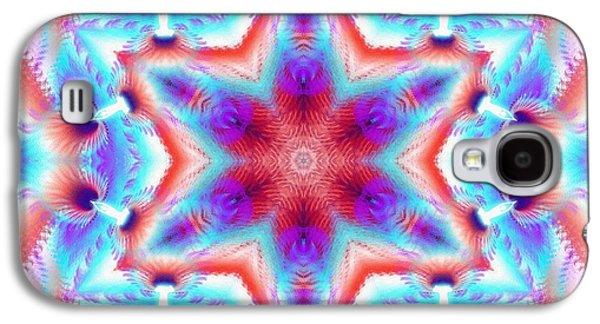 Cosmic Spiral Kaleidoscope 45 Galaxy S4 Case
