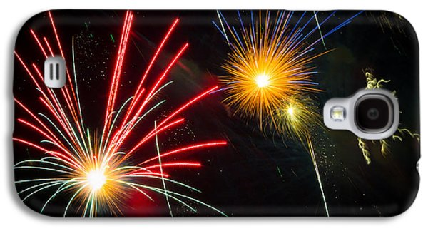 Cosmos Fireworks Galaxy S4 Case