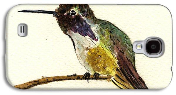 Costa S Hummingbird Galaxy S4 Case by Juan  Bosco