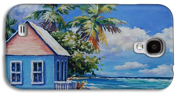 Cottage On The Beach Galaxy S4 Case
