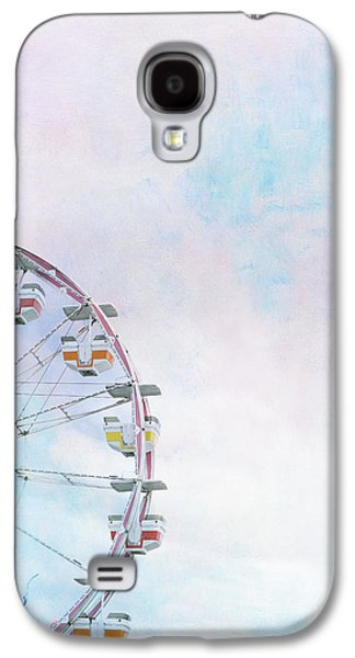 Cotton Candy Ferris Wheel Galaxy S4 Case by Kay Pickens