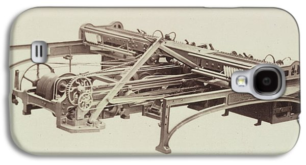 Cotton Machinery Galaxy S4 Case