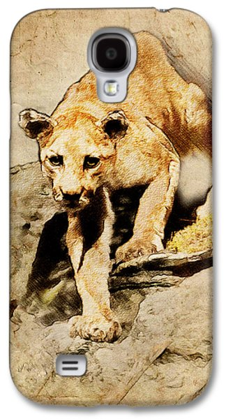 Cougar Hunting Galaxy S4 Case
