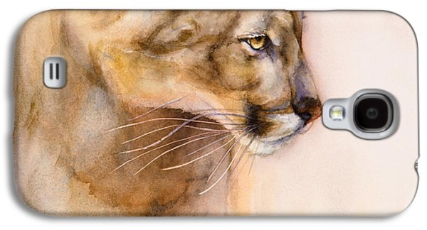 Cougar On The Prowl Galaxy S4 Case by Bonnie Rinier