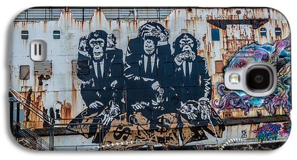 Council Of Monkeys 2 Galaxy S4 Case