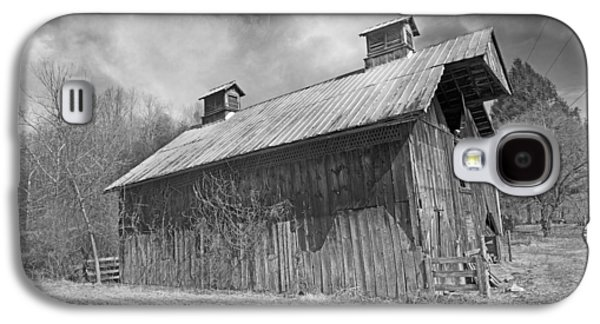 Country Barn Country Moon Country Galaxy S4 Case by Betsy Knapp