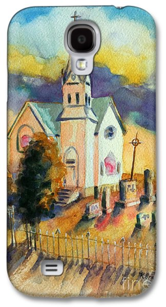 Country Church At Sunset Galaxy S4 Case by Kathy Braud