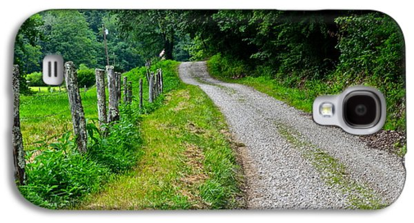 Country Road Galaxy S4 Case by Frozen in Time Fine Art Photography
