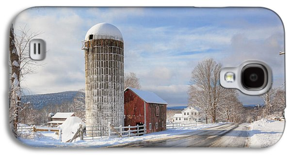 Country Snow Galaxy S4 Case