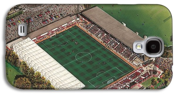 County Ground - Swindon Town Galaxy S4 Case by Kevin Fletcher