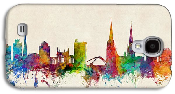 Coventry England Skyline Galaxy S4 Case by Michael Tompsett