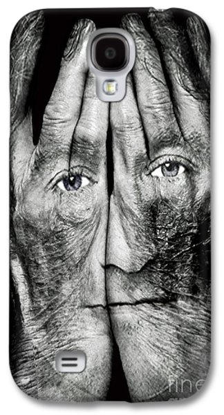 Cover Thy Faces Galaxy S4 Case by Gary Keesler