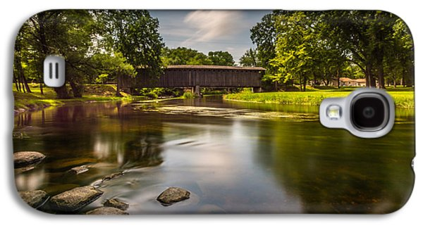 Covered Bridge Long Exposure Galaxy S4 Case
