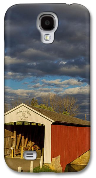 Covered Bridge Over The East Fork Galaxy S4 Case by Chuck Haney