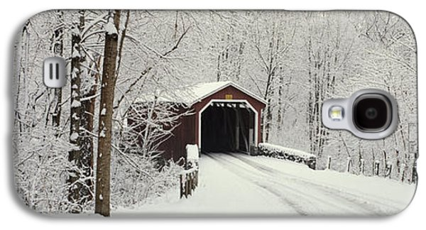 Covered Bridge Pa Galaxy S4 Case by Panoramic Images