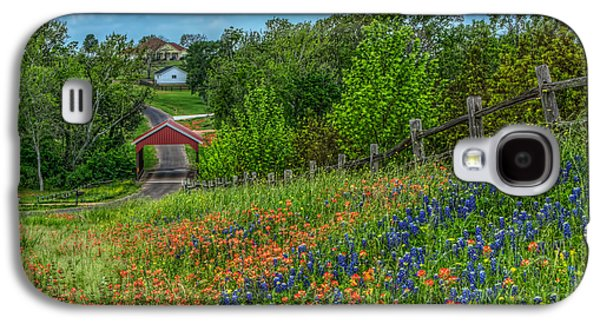 Covered Bridge Galaxy S4 Case by Tom Weisbrook