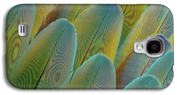 Covert Wing Feathers Of The Camelot Galaxy S4 Case by Darrell Gulin