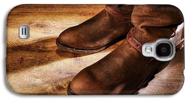 Cowboy Boots On Saloon Floor Galaxy S4 Case
