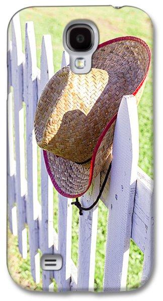 Cowboy Hat On Picket Fence Galaxy S4 Case