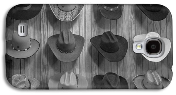 Cowboy Hats On Wall In Nashville  Galaxy S4 Case by John McGraw