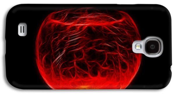 Cracked Glass Galaxy S4 Case by Shane Bechler