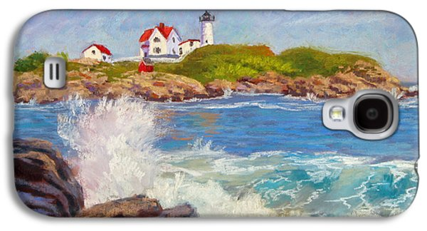 Crashing At Nubble Light Galaxy S4 Case
