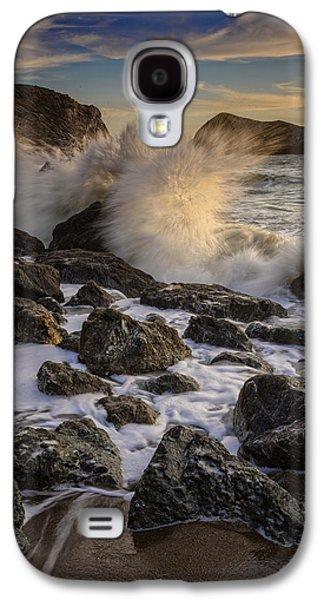 Crashing Sunset Galaxy S4 Case by Rick Berk