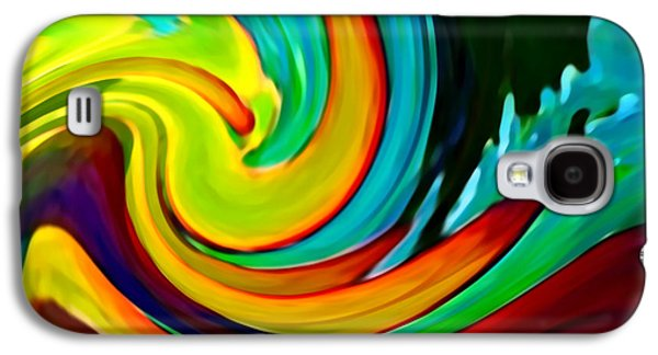 Abstract Movement Galaxy S4 Case - Crashing Wave by Amy Vangsgard