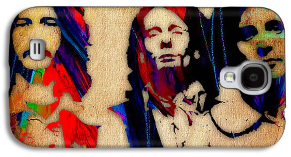 Cream Eric Clapton Jack Bruce Ginger Baker Galaxy S4 Case by Marvin Blaine