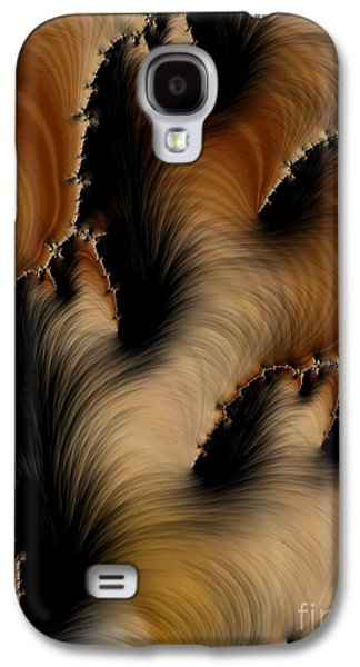 Crevasses  Galaxy S4 Case by Heidi Smith