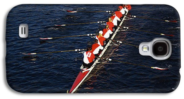 Crew Boat At Head Of Charles Regatta Galaxy S4 Case by Panoramic Images