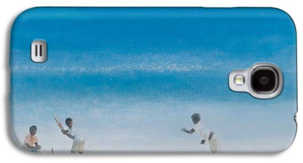 Cricket On The Beach, 2012 Acrylic On Canvas Galaxy S4 Case