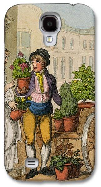 Cries Of London The Garden Pot Seller Galaxy S4 Case