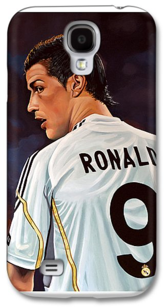 Sports Galaxy S4 Case - Cristiano Ronaldo by Paul Meijering