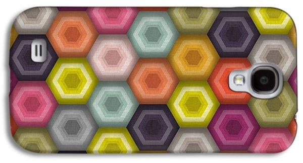 Crochet Honeycomb Galaxy S4 Case by Sharon Turner