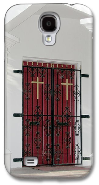 Key West Church Doors Galaxy S4 Case