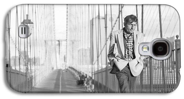 Crossing Brooklyn Bridge Galaxy S4 Case