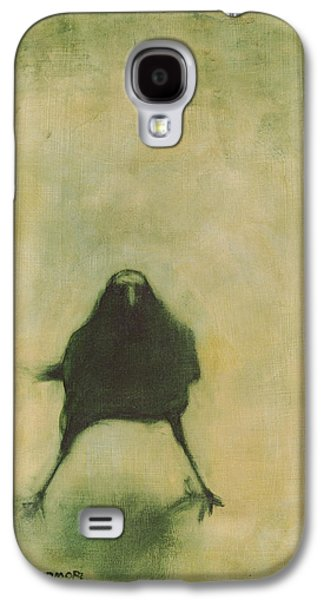 Crow Galaxy S4 Case - Crow 6 by David Ladmore