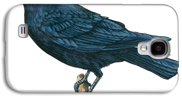 Crow Galaxy S4 Case by Anonymous