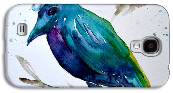 Crow Ho Ho Galaxy S4 Case by Beverley Harper Tinsley
