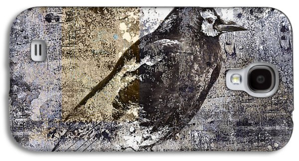 Crow Number 84 Galaxy S4 Case by Carol Leigh