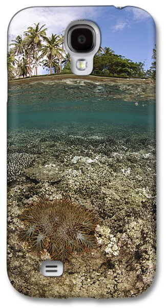 Crown-of-thorns Starfish Fiji Galaxy S4 Case by Pete Oxford