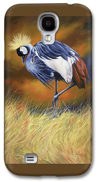 Crane Galaxy S4 Case - Crowned by Lucie Bilodeau