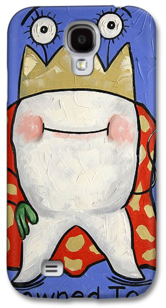 Crowned Tooth Galaxy S4 Case by Anthony Falbo