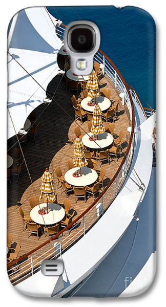 Cruise Ship Symmetry Galaxy S4 Case by Amy Cicconi