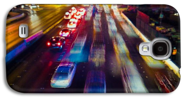 Cruising The Strip Galaxy S4 Case by Alex Lapidus