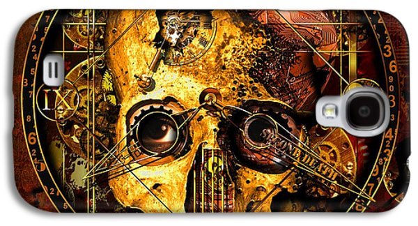 Cryptic Time Course  Galaxy S4 Case by Franziskus Pfleghart