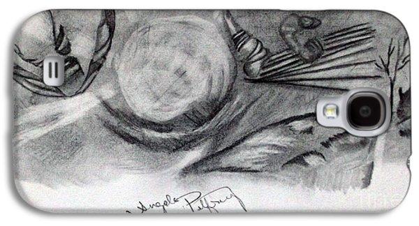 Crystal Ball Galaxy S4 Case by Angela Pelfrey